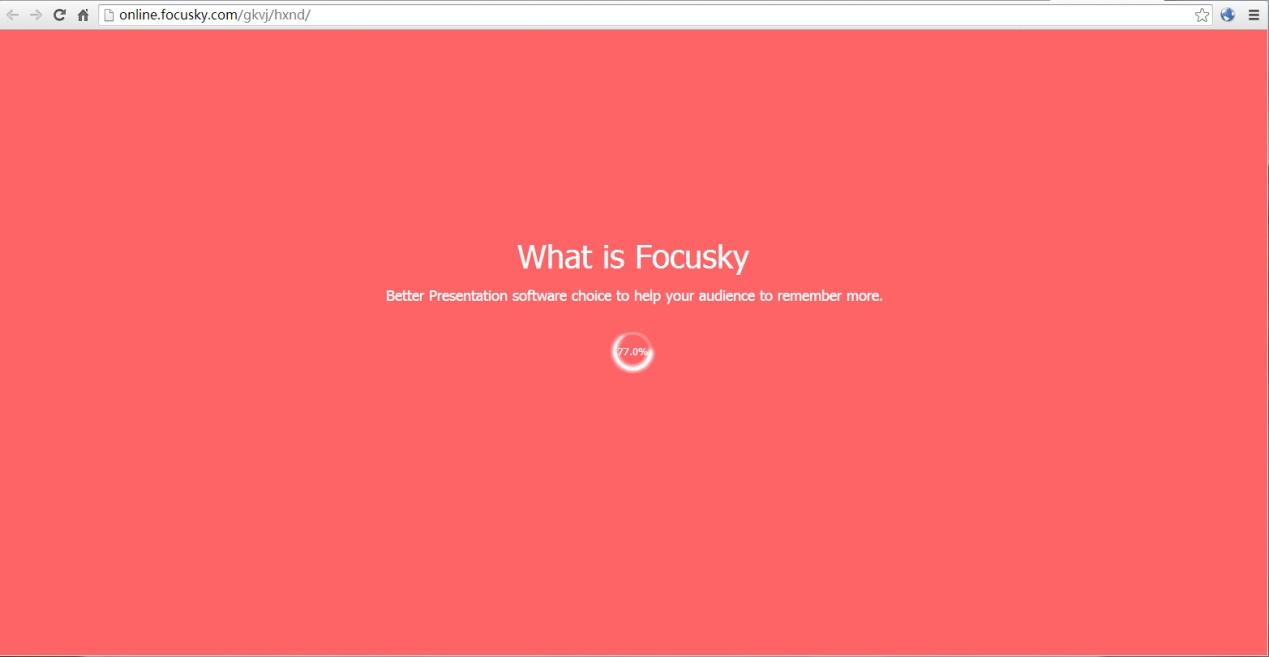 focusky幻灯片 网站浏览加载慢 幻灯片制作软件