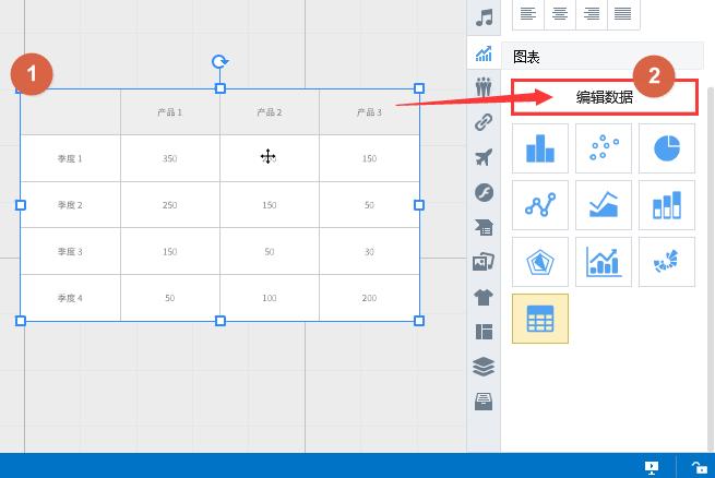 Focusky 常见问答题, 怎样实现表格的行列转换
