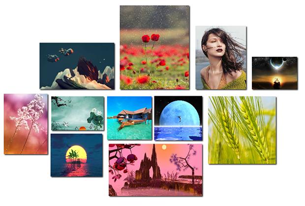 借助各种图片来提升幻灯片的视觉体验和说服力