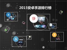 《2015安卓手游排行榜》多媒体演示文稿