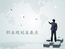 《职业规划五要点》多媒体演示文档